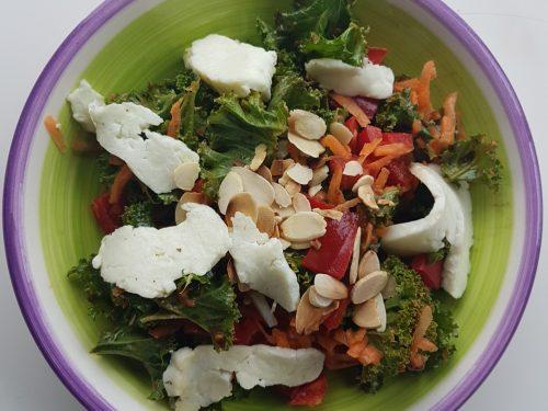 Asian Kale Salad | Beoga Nutrition